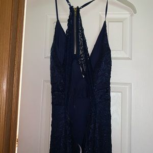 Dresses - Navy blue prom dress